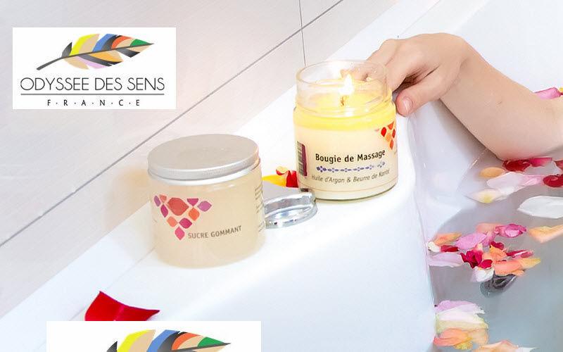 ODYSSEE DES SENS Vela para masajes Perfumes florales Flores y Fragancias  |