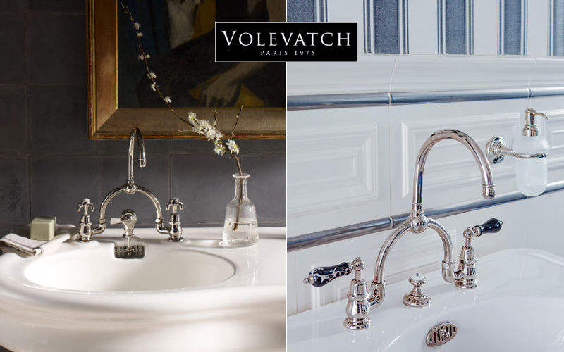 Volevatch Mezclador lavabo 3 orificios Grifería Baño Sanitarios  |