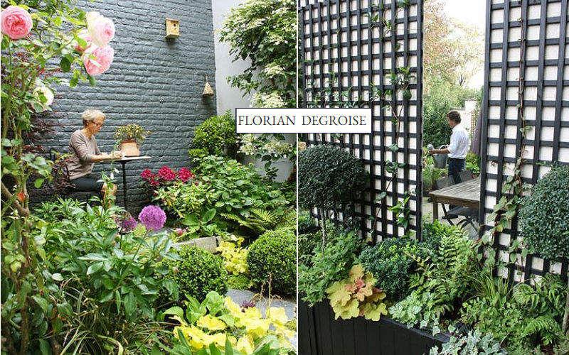 FLORIAN DEGROISE Jardín paisajístico Creación de jardines Jardín Diverso  |