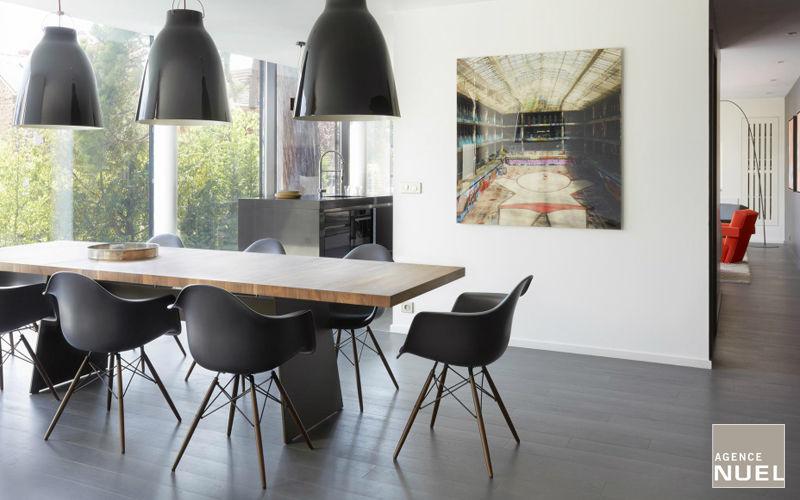 Agence Nuel / Ocre Bleu Realización de arquitecto Realizaciones de arquitecto de interiores Casas isoladas  |