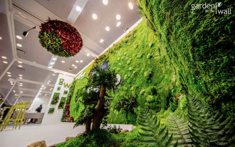 GARDEN ON THE WALL Muro vegetal Muros vegetales Paredes & Techos  |