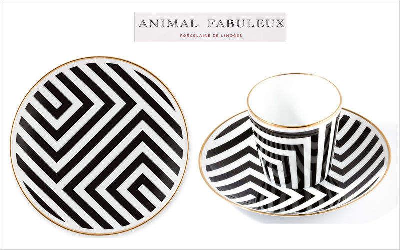 ANIMAL FABULEUX Plato de pan Presenta-platos Vajilla  |