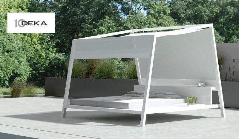 10 Deka Cama para exterior Tumbonas Jardín Mobiliario  |