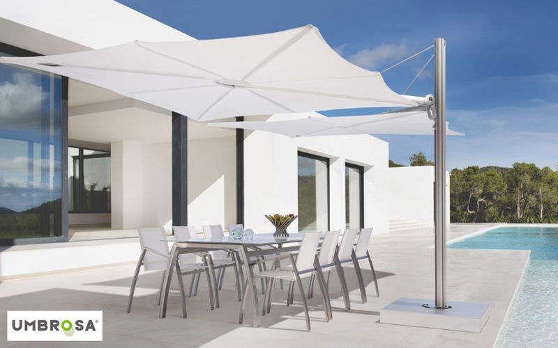 Umbrosa Sombrilla con soporte lateral Sombrillas y estructuras tensadas Jardín Mobiliario   