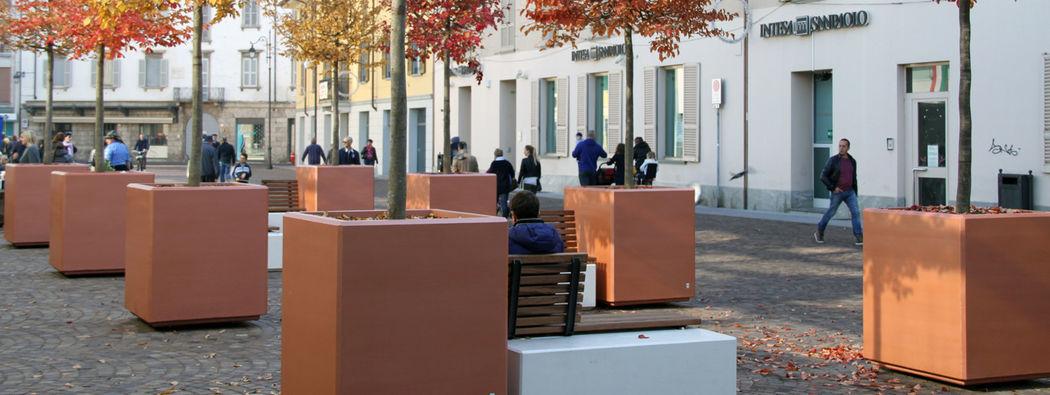 CALZOLARI Jardinera urbana Mobiliario urbano Jardín Diverso  |