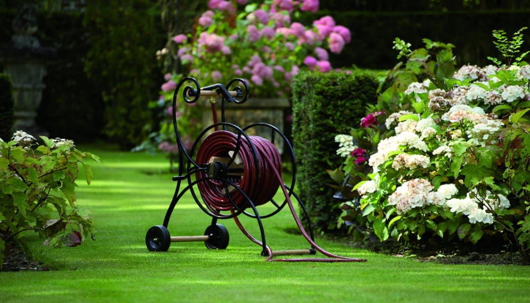 TRADEWINDS Enrollador de tubo de riego Riego Jardín Diverso Jardín-Piscina | Rústico