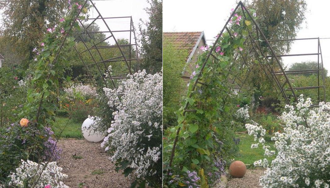 La Forge  de La Maison Dieu Arco Tabiquillos & enrejados Jardín Cobertizos Verjas... Jardín-Piscina | Rústico