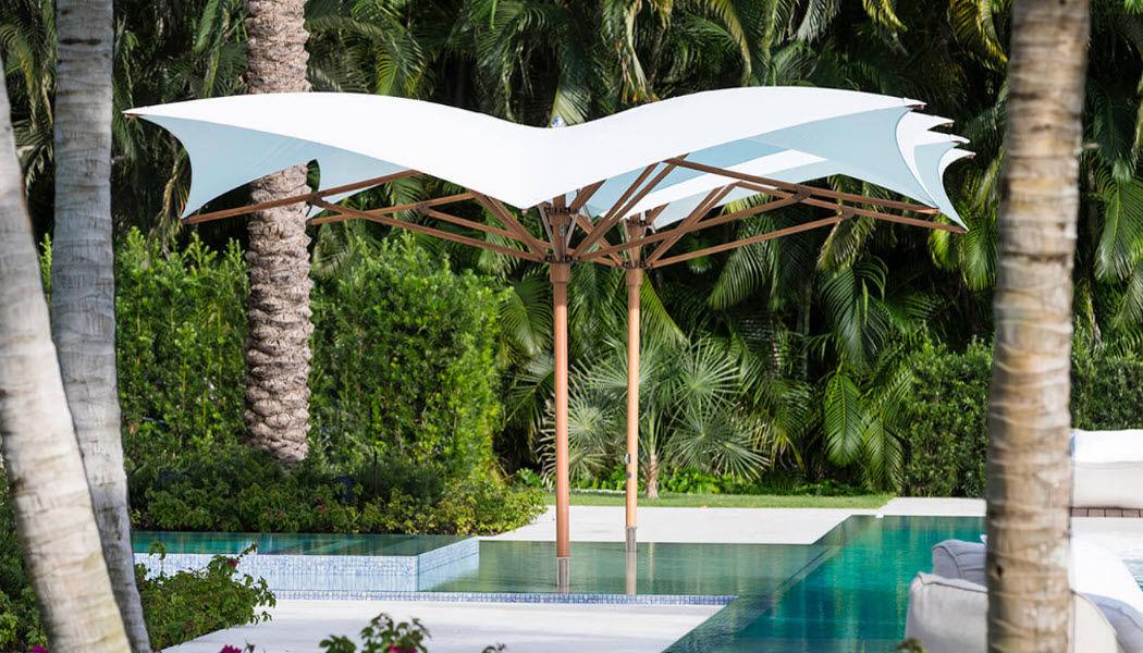 TUUCI Sombrilla gran tamaño Sombrillas y estructuras tensadas Jardín Mobiliario  |