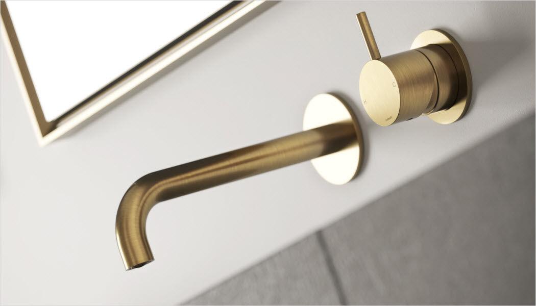 Hotbath Grifo monomando lavabo de pared Grifería Baño Sanitarios  |