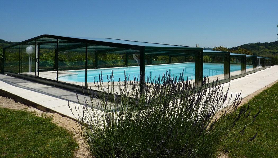 Abri-Integral Cubierta de piscina alta corredera o telescópica Cabinas de piscina Piscina y Spa  |