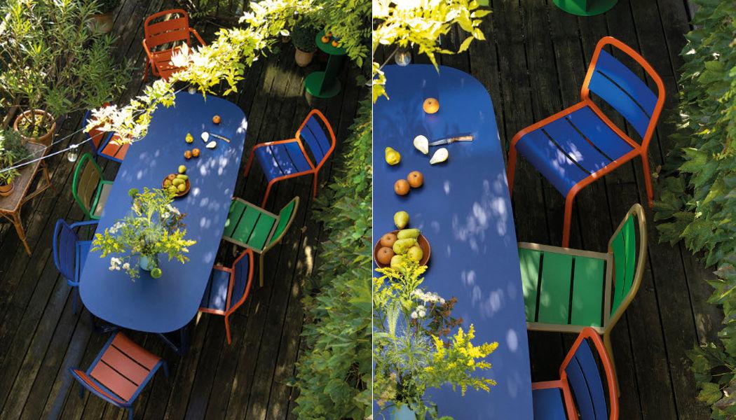 EGO Paris Mesa de jardín Mesas de jardín Jardín Mobiliario   