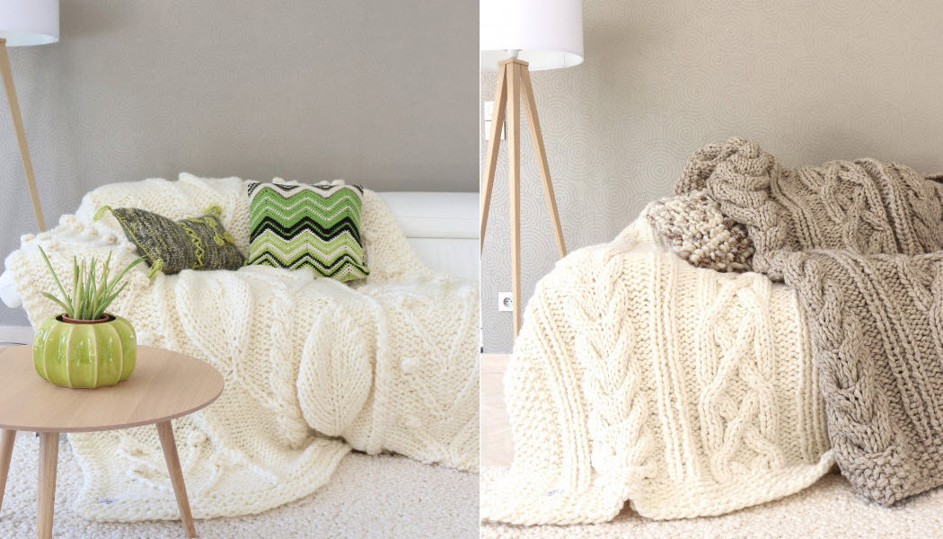 Welove design Manta de viaje / Plaid Colchas & plaids Ropa de Casa  |