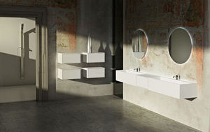 Gb Group Mueble móvil cuarto de baño