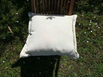 PROLOISIRS - coussin déhoussable beige 40x40cm - Cojín Cuadrado
