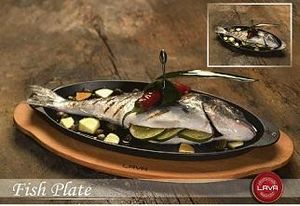 LAVA METAL -  - Fuente De Pescado