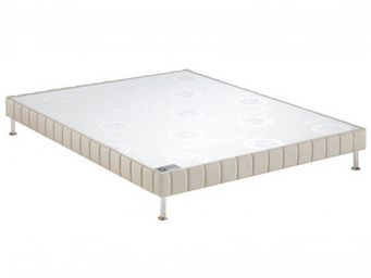Bultex - bultex sommier tapissier confort ferme pierre 100 - Canapé Con Muelles