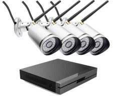 7 LINKS - pack 4 caméras ip outdoor ipc-850.fhd + enregistreur full hd - Cámara De Vigilancia