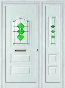AL DESIGN -  - Puerta De Entrada Acristalada