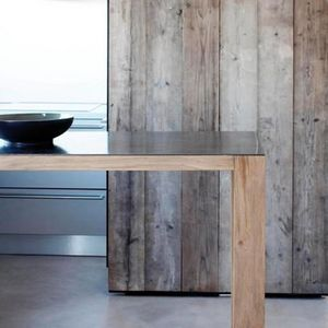 Bleu Nature - planches vieillies - Revestimiento De Pared