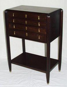 Antiquités Eric de Brégeot -  - Mueble Para Objetos De Plata