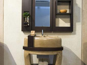 Alessandro Lasferza Studio - set totem - Lavabo Sobre Columna O Base
