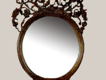 Adam Mirrors - mirror gibbons - Espejo