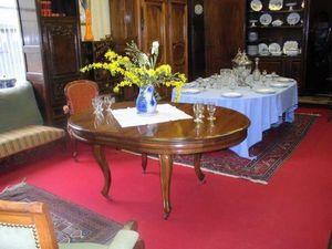 Antiquités FAUROUX - tables à rallonges xix - Mesa Extensible