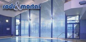 Glass Block Technology - rods & mortar - Panel De Ladrillos De Vidrio