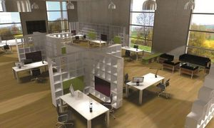 Qubing - bibliotheques separatrices - Open Space