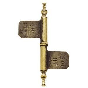 FERRURES ET PATINES - fiche de meuble en bronze - gamme lorraine - pour - Gozne