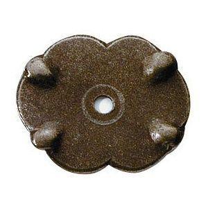 FERRURES ET PATINES - rosace de meuble en fer vieilli pour commode, tabl - Roset�n De Puerta
