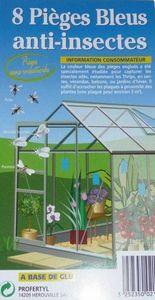 Le jardin Nature - piege bleus anti insectes - Trampa Para Mosquitos