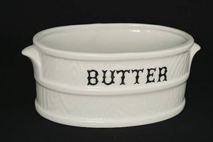 HOOKES - 10.5butter dish - Mantequera