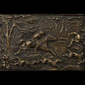 Expertissim - porte-montre en bronze, fin xixe siècle - Portajoyas
