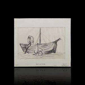 Expertissim - laure delvolve. drôle de pêche - Dibujo Con Tinta