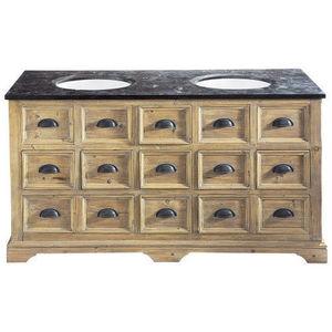 Maisons du monde - meuble double vasque st quentin - Mueble De Ba�o Dos Senos