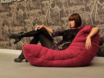 AMBIENT LOUNGE - acoustic sofa - sakura pink - Sill�n Bajo