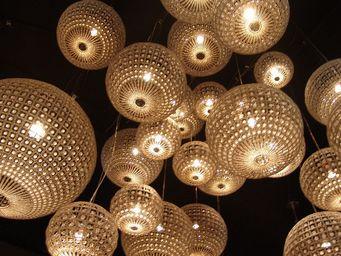 Spiridon - broum - Lámpara Colgante