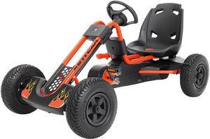 Kettler - kart orange à pédale indianapolis air 126x89x73cm - Coche A Pedal