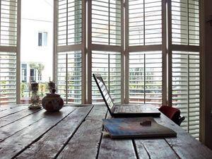 DECO SHUTTERS - shutters pliants en mode accordéon - Postigos Plegables Persianas