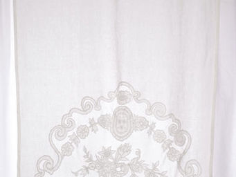 Coquecigrues - mini rideau castille ivoire - Cortina Confeccionada