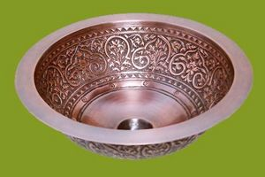 COPPER DESIGN MAKERS -  - Lavabo Empotrado