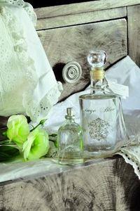 Amelie et Melanie - linge blanc - Perfume De Interior