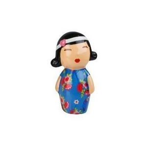 Present Time - tirelire japonaise bleue - Hucha