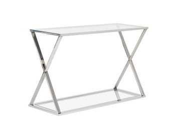 ACHATDESIGN - console cross transparent - Consola
