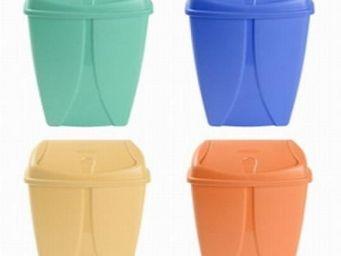 Up Trade - poubelle salle de bain 10 litres orange - Papelera De Cuarto De Ba�o