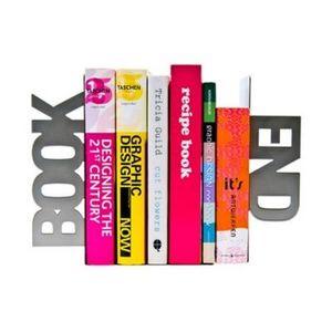 Present Time - serre-livres book end - Sujetalibros