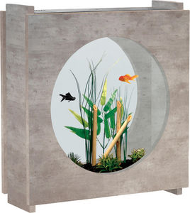 ZOLUX - aquarium aqua fashion imitation béton ciré 47x16x5 - Acuario