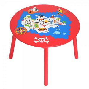 La Chaise Longue - table enfant pirate - Mesa Para Niño