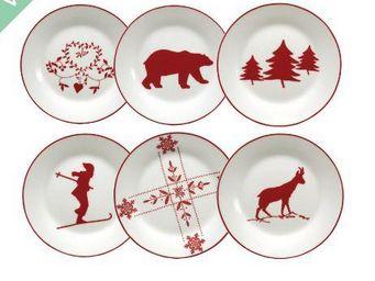 Interior's - assiette dessert - Vajilla Para Navidad Y Fiestas